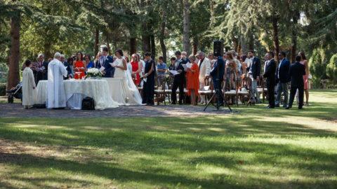 Wedding in a Castle